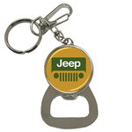 Bottle Opener Keychain : Jeep