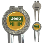 Golf Divot Repair Tool : Jeep