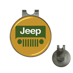 Golf Hat Clip with Ball Marker : Jeep
