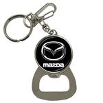 Bottle Opener Keychain : Mazda