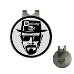 Golf Hat Clip with Ball Marker : Breaking Bad