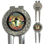 Golf Divot Repair Tool : Bob Marley - Natural Mystic