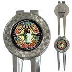 Golf Divot Repair Tool : Bob Marley - Natural Mystic