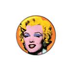 Golf Ball Marker : Marilyn Monroe by Andy Warhol
