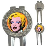 Golf Divot Repair Tool : Marilyn Monroe by Andy Warhol