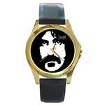Gold-Tone Watch : Frank Zappa