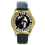Gold-Tone Watch : Brian Jonestown Massacre