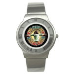 Roman Dial Watch : Bob Marley - Natural Mystic
