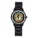 Casual Black Watch : Bob Marley - Natural Mystic