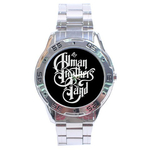 Chrome Dial Watch : Allman Brothers Band