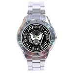 Chrome Dial Watch : Ramones