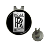 Golf Hat Clip with Ball Marker : Rolls Royce