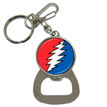 Bottle Opener Keychain : Grateful Dead - Bolt