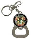 Bottle Opener Keychain : Bob Marley - Natural Mystic