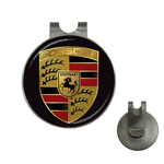 Golf Hat Clip with Ball Marker : Porsche
