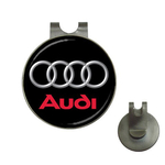 Golf Hat Clip with Ball Marker : Audi