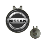 Golf Hat Clip with Ball Marker : Nissan