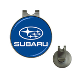 Golf Hat Clip with Ball Marker : Subaru