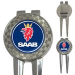 Golf Divot Repair Tool : Saab