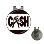 Golf Hat Clip with Ball Marker : Johnny Cash