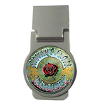 Money Clip (Round) : Grateful Dead - American Beauty