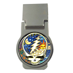 Money Clip (Round) : Grateful Dead - Steal Your Face - Cosmic