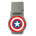 Money Clip (Round) : Captain America Shield