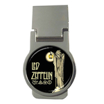 Money Clip (Round) : Led Zeppelin IV Symbols - Hermit