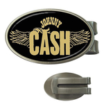 Money Clip (Oval) : Johnny Cash - Wings