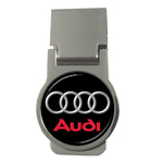 Money Clip (Round) : Audi