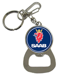 Bottle Opener Keychain : Saab