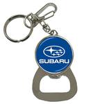 Bottle Opener Keychain : Subaru