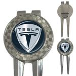 Golf Divot Repair Tool : Tesla