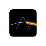 Coasters (4 pack - Square) : Pink Floyd - Dark Side of the Moon