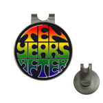 Golf Hat Clip with Ball Marker : Ten Years After (black)