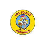 Golf Ball Marker : Breaking Bad - Los Pollos Hermanos