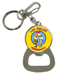 Bottle Opener Keychain : Breaking Bad - Los Pollos Hermanos