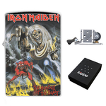 Lighter : Iron Maiden - Number of the Beast