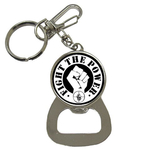 Bottle Opener Keychain : Public Enemy - Fight the Power