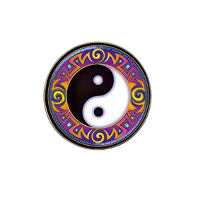 Golf Ball Marker : Yin Yang Tribal