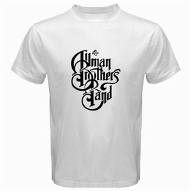 White T-Shirt : Allman Brothers Band