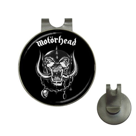 Golf Hat Clip with Ball Marker : Motorhead