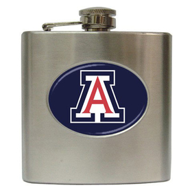 Liquor Hip Flask (6oz) : Arizona Wildcats