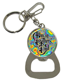 Bottle Opener Keychain : Allman Brothers Band - Fractal