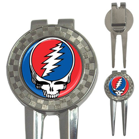Golf Divot Repair Tool : Grateful Dead - Steal Your Face