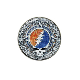 Golf Ball Marker : Grateful Dead - Aztec - Steal Your Face