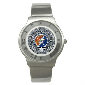 Roman Dial Watch : Grateful Dead - Aztec - Steal Your Face