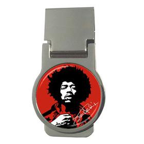 Money Clip (Round) : Jimi Hendrix