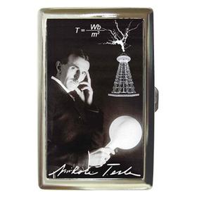 Cigarette Case : Nikola Tesla