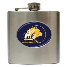Liquor Hip Flask (6oz) : California Golden Bears